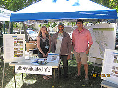 sfbaywildlife.info booth at Beaver Festival